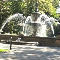 Photo taken at City Hall Park by Bob D. on 7/15/2011