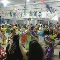 Photo taken at Rancho (Escola de Samba) by Thais Q. on 6/23/2012