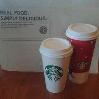 Photo taken at Starbucks by amanda michelle on 1/22/2012