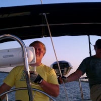Photo taken at Lake Ray Hubbard On Board The Sailing Vessel Juliet by Ken G. on 5/26/2011