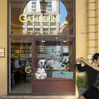 Photo taken at Café Pasticceria Gamberini by ARTEFIERA on 11/24/2011
