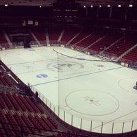 Photo taken at Herb Brooks Arena by Ryan M. on 3/16/2012