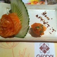 Photo taken at Gendai by Tati Y. on 5/8/2012