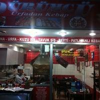 Photo taken at Dürümcü - Urfadan Kebab by Yusuf Y. on 7/11/2011