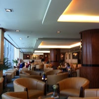 Photo taken at The Emirates Lounge (EK) by Andy C. on 10/7/2011