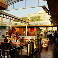 Photo taken at Hudson Terrace by Party Earth on 4/10/2012
