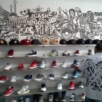 Photo taken at Burn Rubber Sneaker Boutique by Chantale E. on 9/4/2011