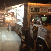 Photo taken at El Rey Del Taco Truck by Shilpa H. on 3/4/2012