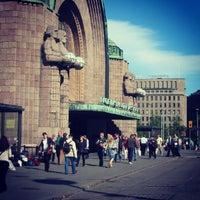 Photo taken at Rautatientori by Julius K. on 6/4/2012