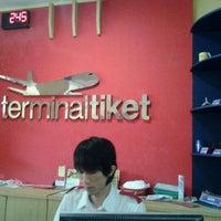 Photo taken at Terminaltiket by Ricky S. on 10/3/2011