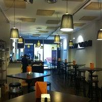 Photo taken at Mordisco Tapas by Santiago P. on 12/9/2011