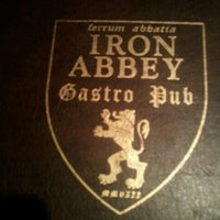 Photo taken at Iron Abbey by Waverly B. on 6/7/2012