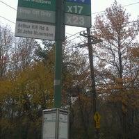 Photo taken at Eltingville Transit Center by Shermaine J. on 11/15/2011