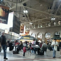 Photo taken at South Station Food Court by Helen G. on 10/24/2011
