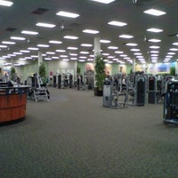 Photo taken at LA Fitness by Stephanie L. on 11/16/2011