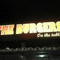 Photo taken at The Burgers on the table by Marcelo on 9/13/2011