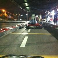 Photo taken at Aqualand karting by Erdal A. on 7/8/2012