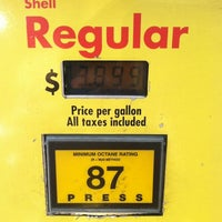 Photo taken at Shell by 🐯Leigh Ann S. on 6/20/2012
