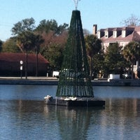 Photo taken at Colonial Lake by Hillary E. on 12/1/2011