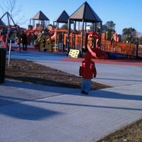 Photo taken at Kid's Cove at Mount Trashmore Park by Bethany on 12/19/2011