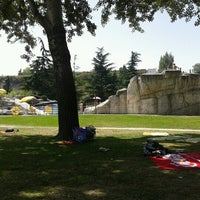 Photo taken at Piscinas Burlada by Fran P. on 8/10/2012