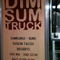 Photo taken at The DimSum Truck by Celina H. on 2/4/2011