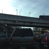 Photo taken at Ratchada-Lat Phrao Intersection by Kommy B. on 5/12/2012