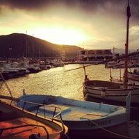 Photo taken at El Port de la Selva by Angel I. on 8/11/2012