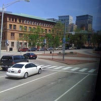 Photo taken at Megabus Stop Providence by Lonetta I. on 5/20/2012
