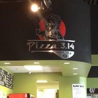 Photo taken at Pizza 3.14 by Derek S. on 5/27/2012