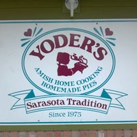 Photo taken at Yoder's Restaurant by Benjamin F. on 9/8/2011