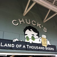 Photo taken at Chuck's Hop Shop by Kyle R. on 8/26/2012