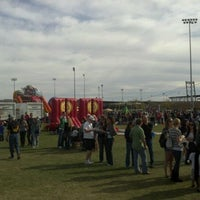Photo taken at Street Eats Food Truck Festival by Lance R. on 1/14/2012