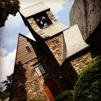 Photo taken at Union Church of Pocantico Hills by CanCan on 8/23/2012