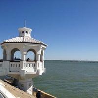Photo taken at Corpus Christi Bay by Yelin S. on 4/21/2012
