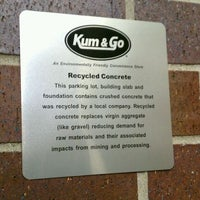 Photo taken at Kum & Go by Nathan B. on 6/21/2011