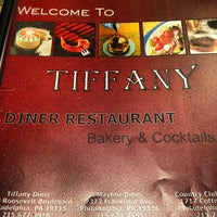 Photo taken at Tiffany Diner by Eric S. on 6/19/2012