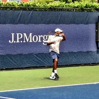 Photo taken at Court 5 - USTA Billie Jean King National Tennis Center by ~C on 9/4/2011