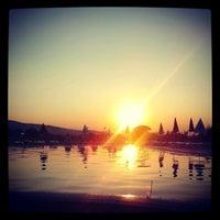 Photo taken at Spa Hotel Exotic Markovo by Vassil S. on 8/20/2012