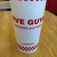 Photo taken at Five Guys by Ross T. on 5/26/2012