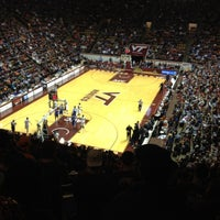 Photo taken at Cassell Coliseum by Ashley S. on 2/3/2012