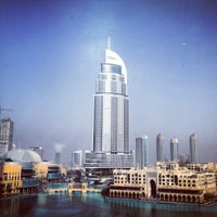 Photo taken at Armani Hotel Dubai by Hiroshi 🎩 on 7/19/2012