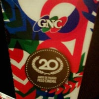 Photo taken at GNC Cinemas by Graciana M. on 7/3/2012