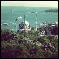 Photo taken at Hilton ParkSA Istanbul by Mehmet U. on 9/2/2012