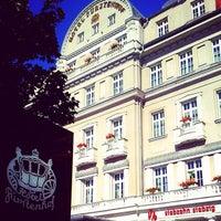 Photo taken at Hotel Fürstenhof by Christian K. on 7/21/2012