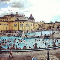 Photo taken at Széchenyi Thermal Bath by Toni T. on 7/22/2012