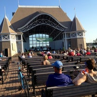Photo taken at Lake Harriet Band Shell by Edward B. on 8/26/2012
