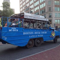 Photo taken at Boston Duck Tour (Prudential Center) by Fabiana on 8/23/2012