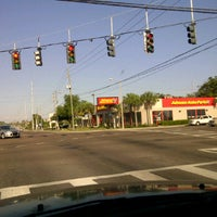 Photo taken at Park Blvd & Seminole Blvd by Mabura G. on 5/10/2012