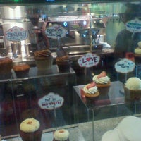 Photo taken at Cups Organic Cupcakes by Alannah D. on 2/6/2012